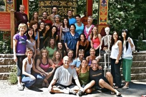 Yin Yoga Teacher Training, Class Photo, 2009