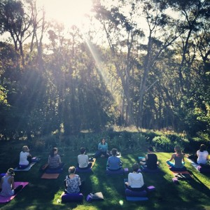 Yin Yoga Sunset Meditation