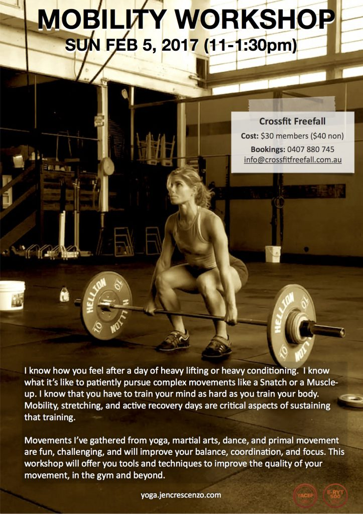 Mobility Workshop_CrossFit Freefall_Feb 2017_Flyer